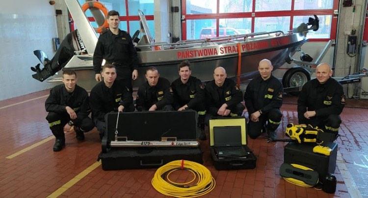Dron podwodny i sonar holowany dla Komendy Powiatowej Państwowej Straży Pożarnej w Kościerzynie