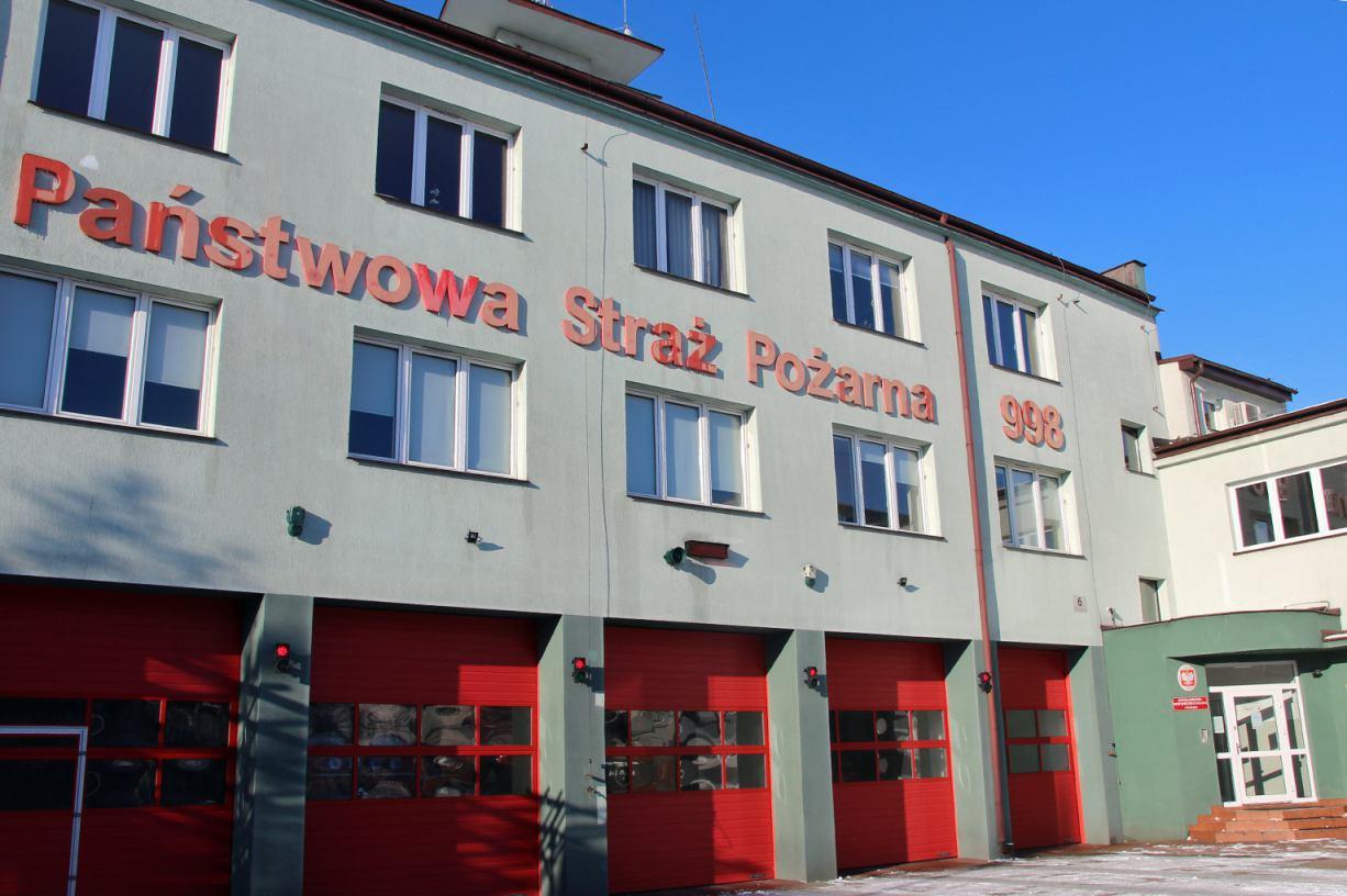 Prawie 1 mln złotych dofinansowania trafiło do Komendy Powiatowej Państwowej Straży Pożarnej w Kościerzynie
