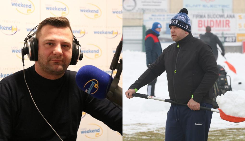 Odśnieżanie przed Cracovią i pożegnanie z Bytovią. Posłuchaj reportażu z akcji Chojniczanki i rozmowy z Adrianem Stawskim