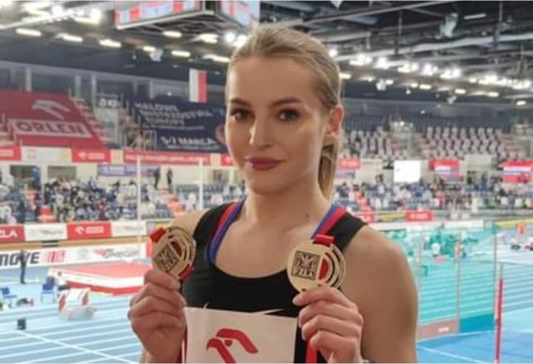 Beata Topka z Talexu Borzytuchom halową mistrzynią Polski w biegu na 3 km