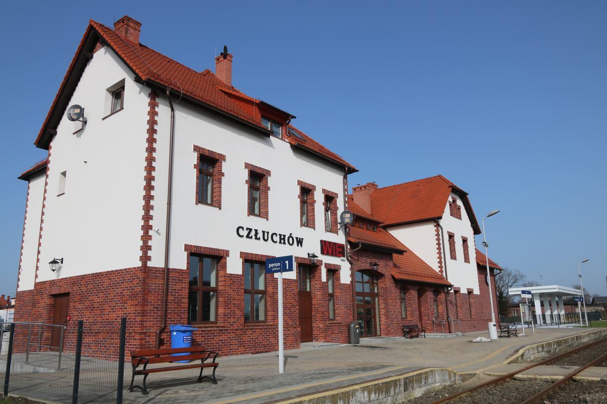 Spółka Polregio nie chce prowadzić kasy biletowej w wyremontowanym budynku dworca kolejowego w Człuchowie