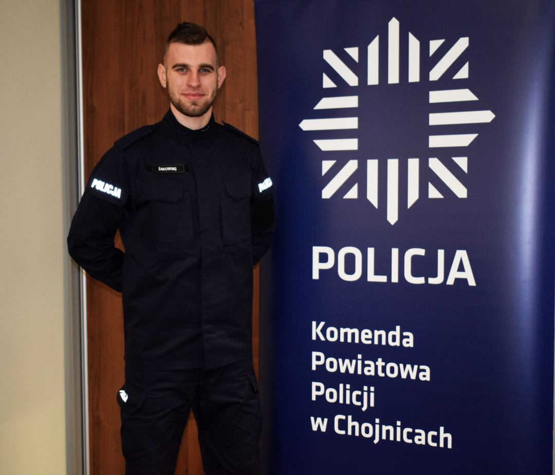 Policja w Chojnicach zachęca do wstępowania w jej szeregi. Służba może przynosić sporo satysfakcji