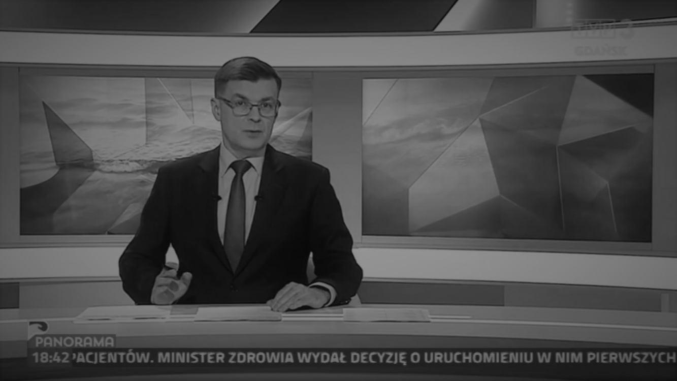 Nie żyje dziennikarz TVP Gdańsk Piotr Świąc. W piątek zginął w wypadku samochodowym między Żukowem, a Kościerzyną