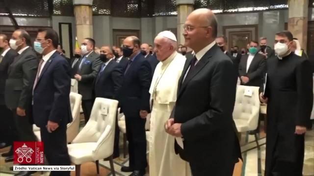 Papież Franciszek rozpoczął historyczną wizytę w Iraku