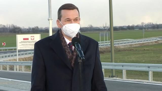 Działacze Agrounii próbowali przedrzeć się do premiera otwierającego drogę we Wrześni