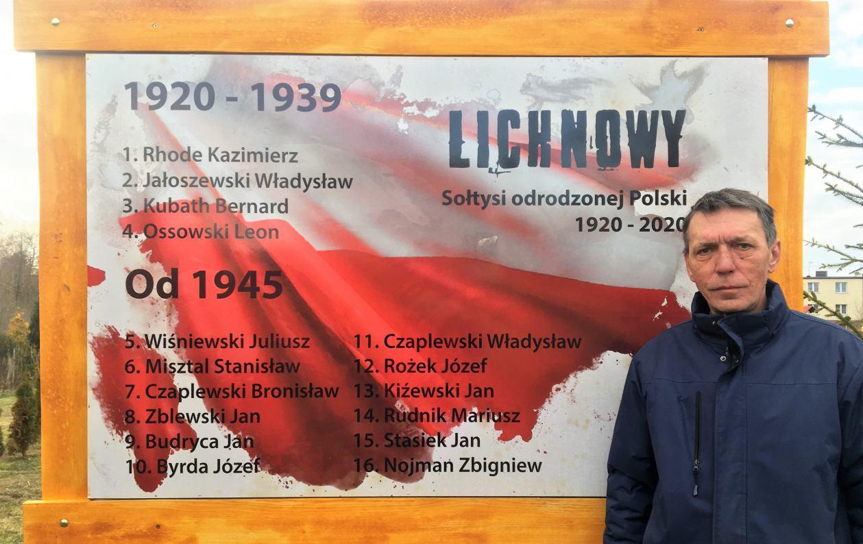 11marca to Dzień Sołtysa. O stuletniej historii sołectwa Lichnowy opowiada Zbigniew Nojman