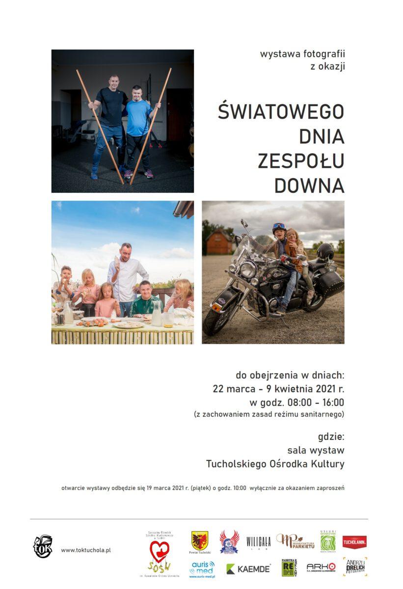 Niezwykła wystawa w Tucholi z okazji Światowego Dnia Zespołu Downa