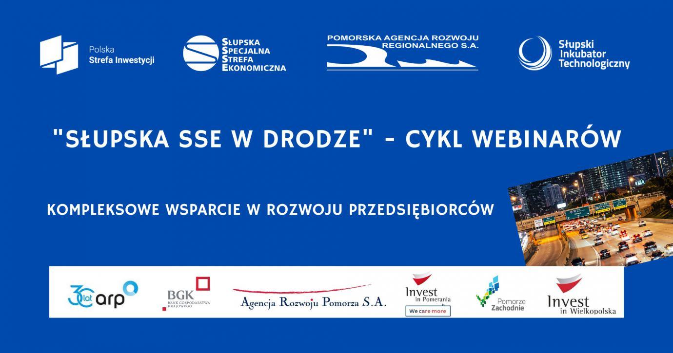 Webinarium poświęcone możliwości inwestowania w Słupskiej Specjalnej Strefie Ekonomicznej