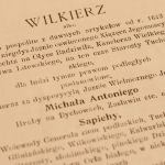 | Odcinek 1. Wilkierz starostwa tucholskiego