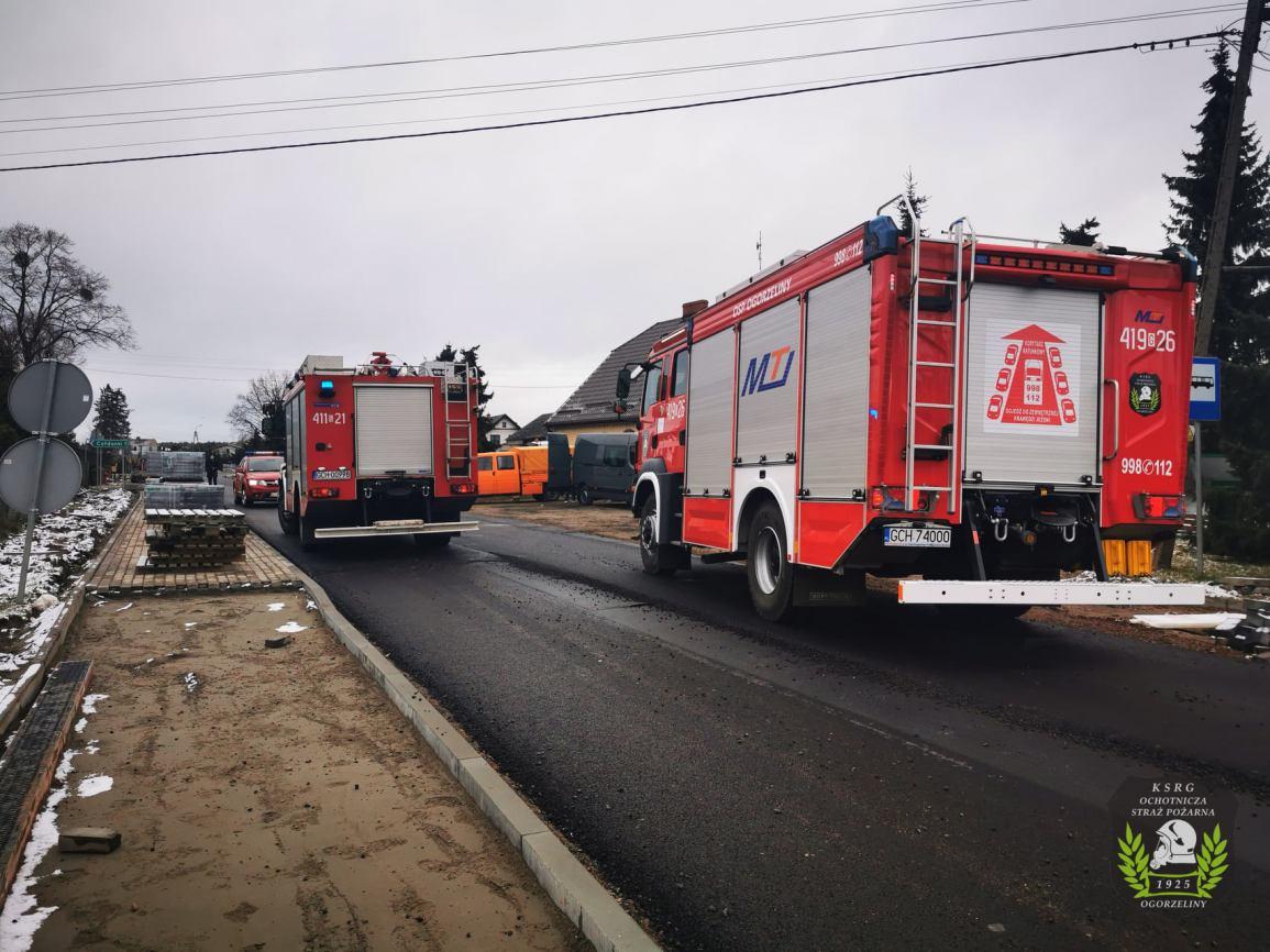 Potrącenie pieszego w Nowym Dworze koło Chojnic