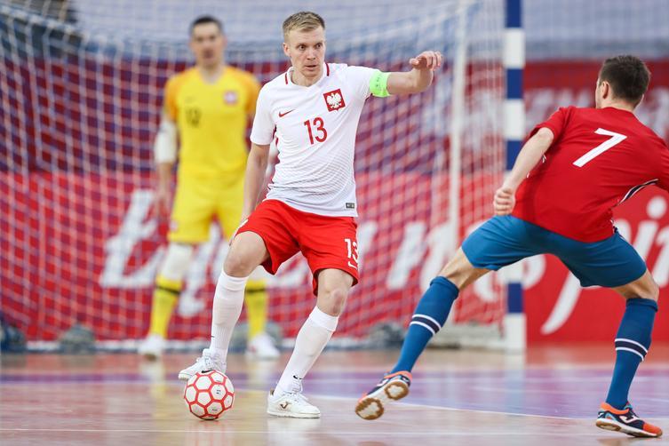 Tomasz Kriezel z Czerska awansował z reprezentacją Polski na Mistrzostwa Europy w Futsalu