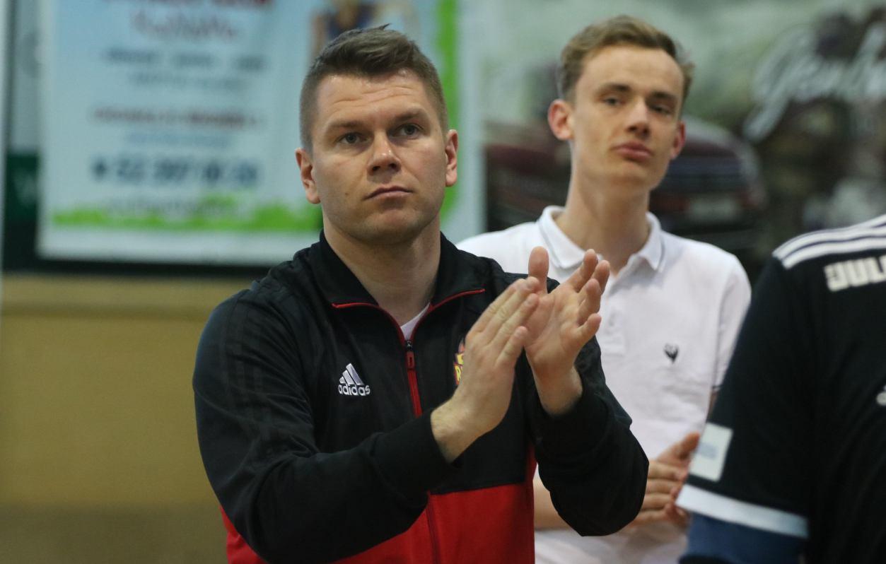 Jakub Mączkowski poprowadzi Red Devils Chojnice po raz pierwszy po powrocie na stanowisko trenera