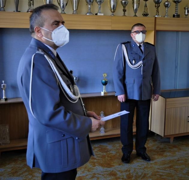 Nadkomisarz Andrzej Moroz został komendantem Komisariatu Policji w Miastku