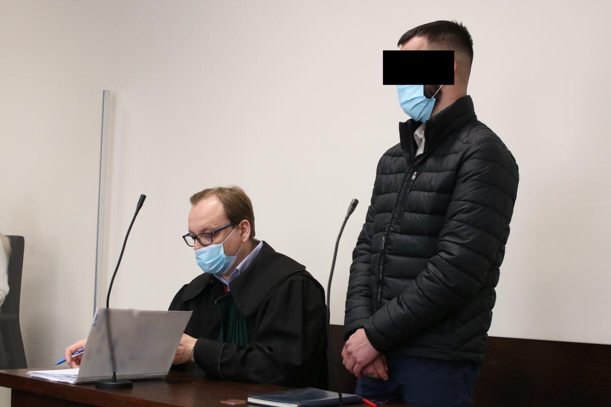 Oskarżony o spowodowanie śmiertelnego wypadku pod Jaromierzem nie przyznał się do winy