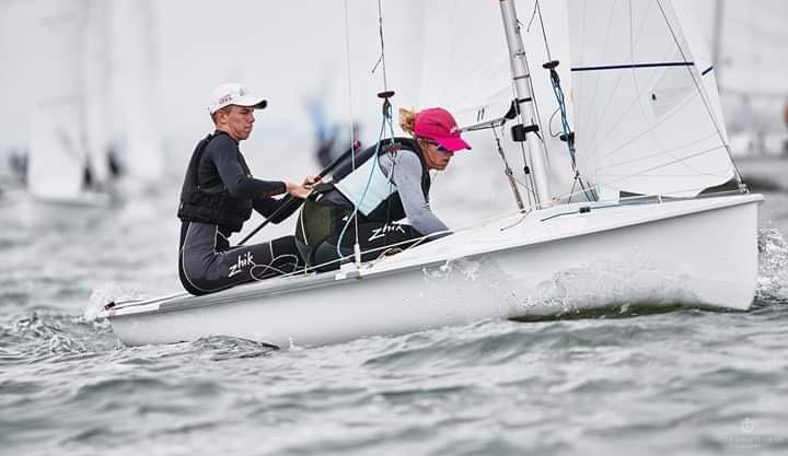 Oliwia Laskowska z Chojnickiego Klubu Żeglarskiego pojedzie na Igrzyska Olimpijskie w Tokio