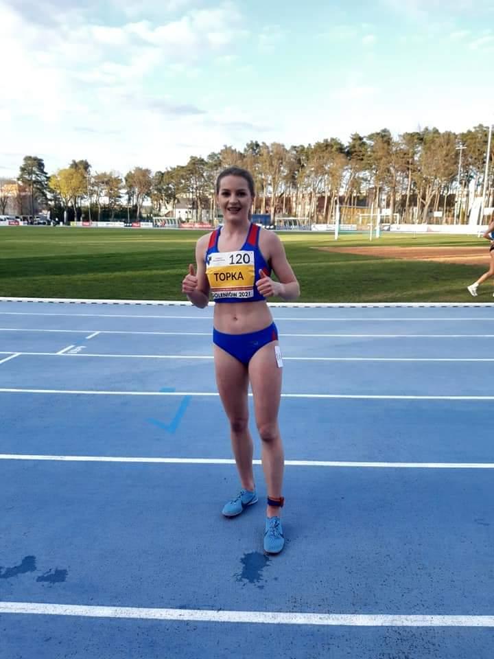 Beata Topka, lekkoatletka Talexu Borzytuchom, obroniła tytuł Młodzieżowej Mistrzyni Polski na dystansie 10 km
