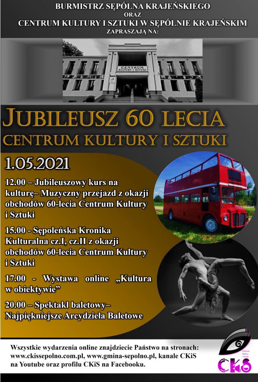 Londyński autobus na ulicach Sępólna Krajeńskiego - tak zacznie się w sobotę 1 maja tegoroczna majówka
