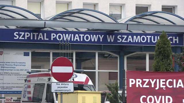 Ktoś grozi pracownikom szpitala covidowego w Szamotułach. Dyrektor zawiadamia prokuraturę