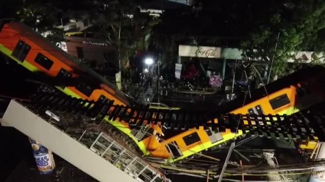 Rośnie bilans ofiar zawalenia się wiaduktu metra w Meksyku. Zginęły co najmniej 23 osoby