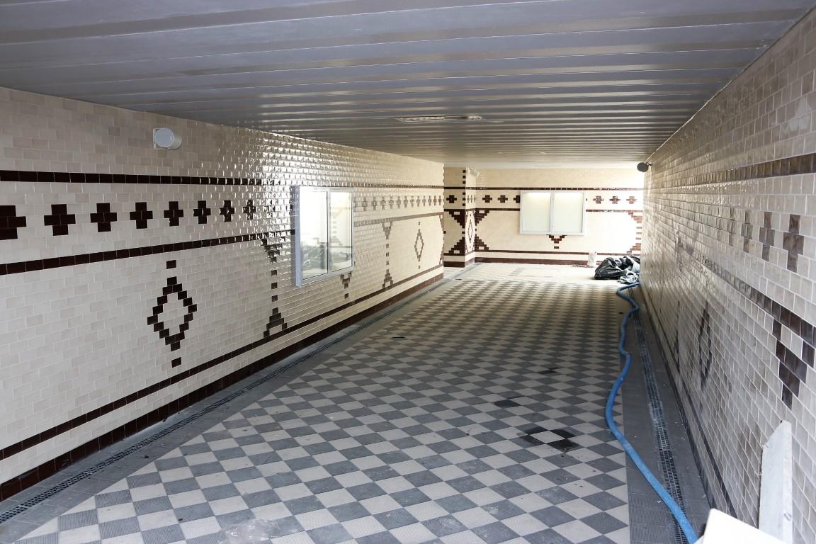 Nowe przejście podziemne na chojnickim dworcu PKP już prawie gotowe FOTO