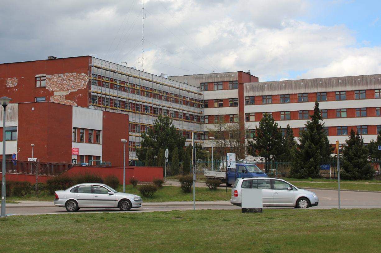 Termomodernizacja Szpitala Specjalistycznego w Kościerzynie nabiera tempa