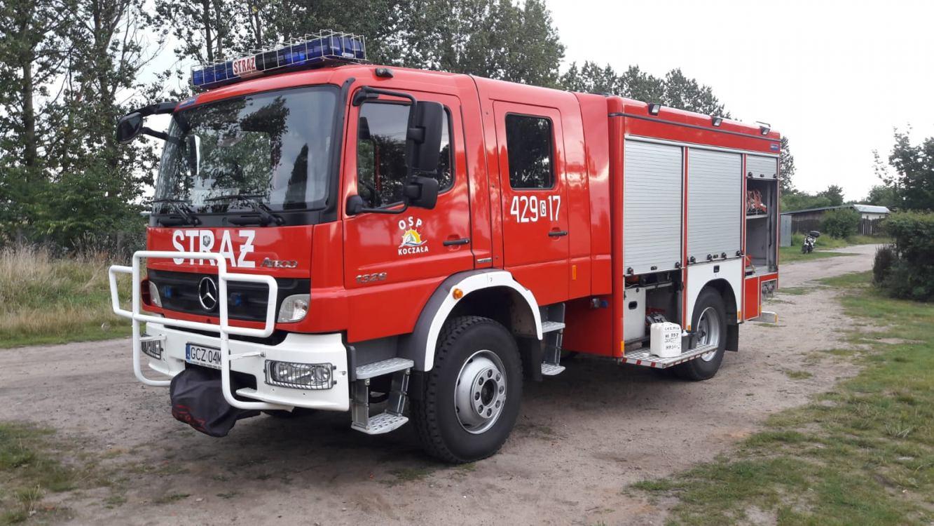 Powiat człuchowski dorzuci się do zakupu wozu dla Ochotniczej Straży Pożarnej w Koczale