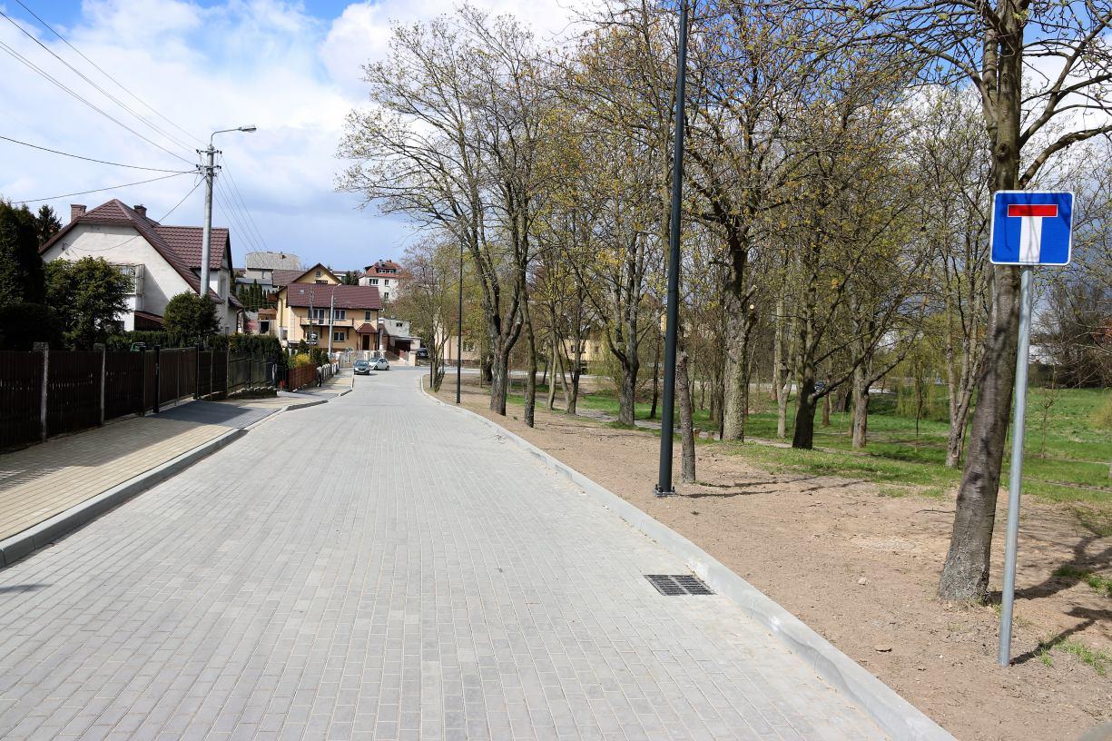 Budowa ulicy Krasickiego w Chojnicach zakończona. Inwestycja objęła jednak tylko część tej ulicy