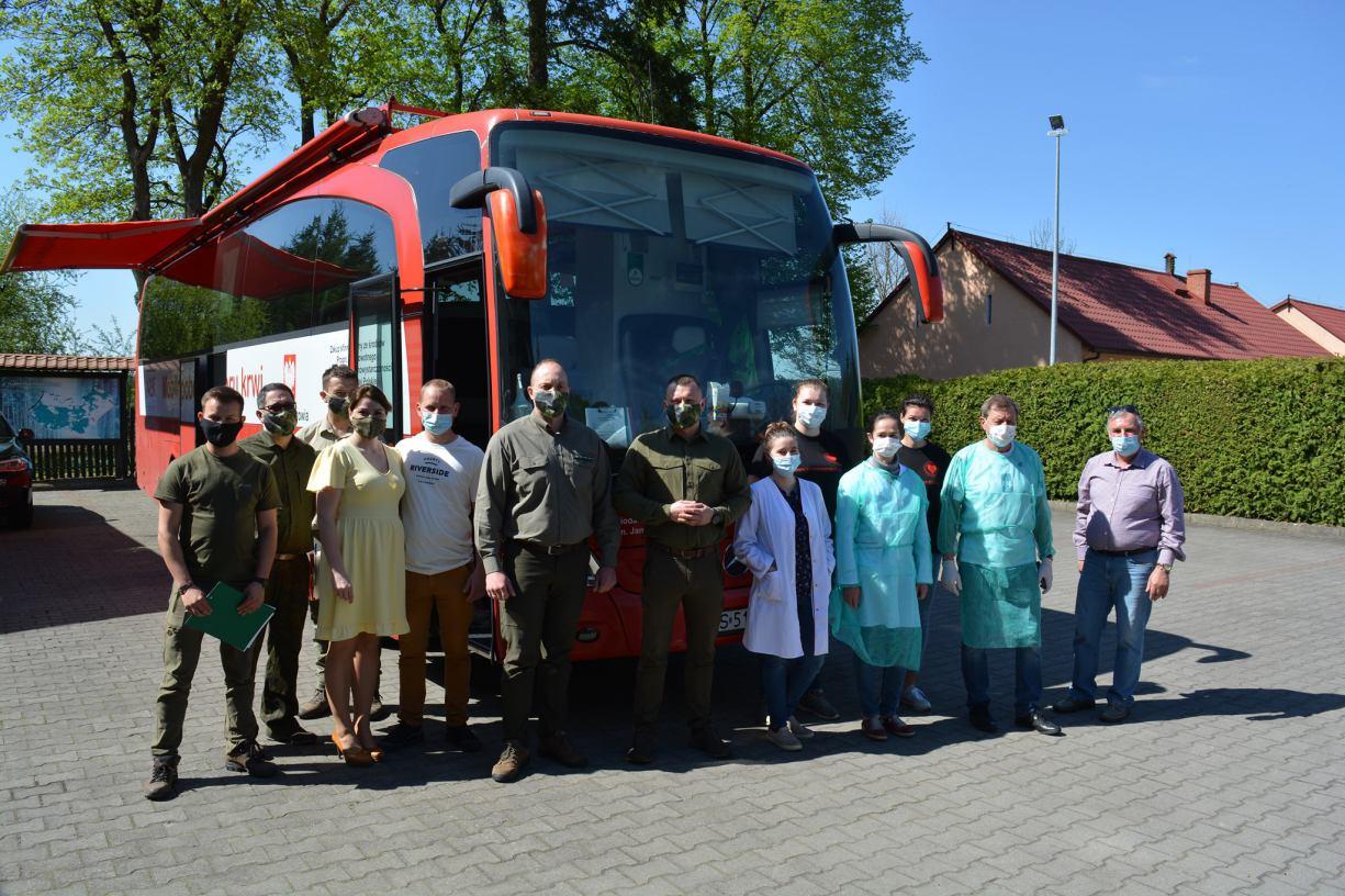 Leśna krew - akcja krwiodawstwa w Nadleśnictwie Czersk