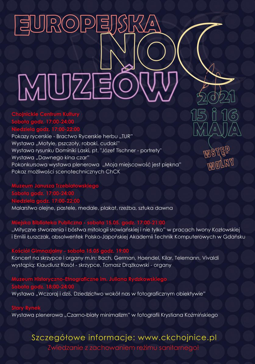 Zwiedzanie o niecodziennej porze i inne atrakcje - w ten weekend w Chojnicach Europejska Noc Muzeów