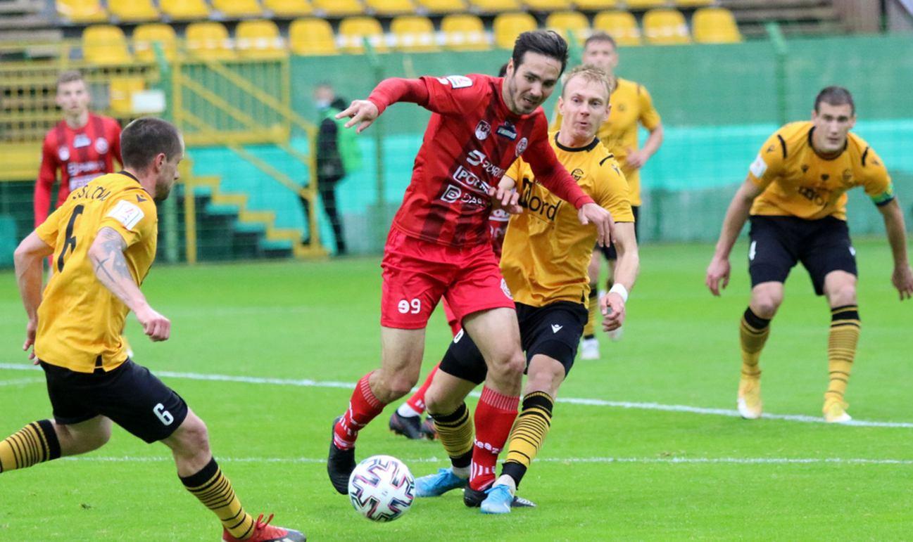 Rzeczywistość Bytovii porażka 14 z GKS-em Katowice, 11 z rzędu mecz bez zwycięstwa i ostatnie miejsce w tabeli II ligi