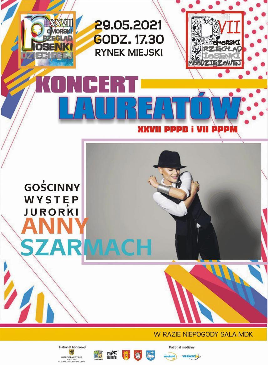 W sobotę w Człuchowie koncert laureatów dwóch przeglądów piosenki oraz występ Ani Szarmach