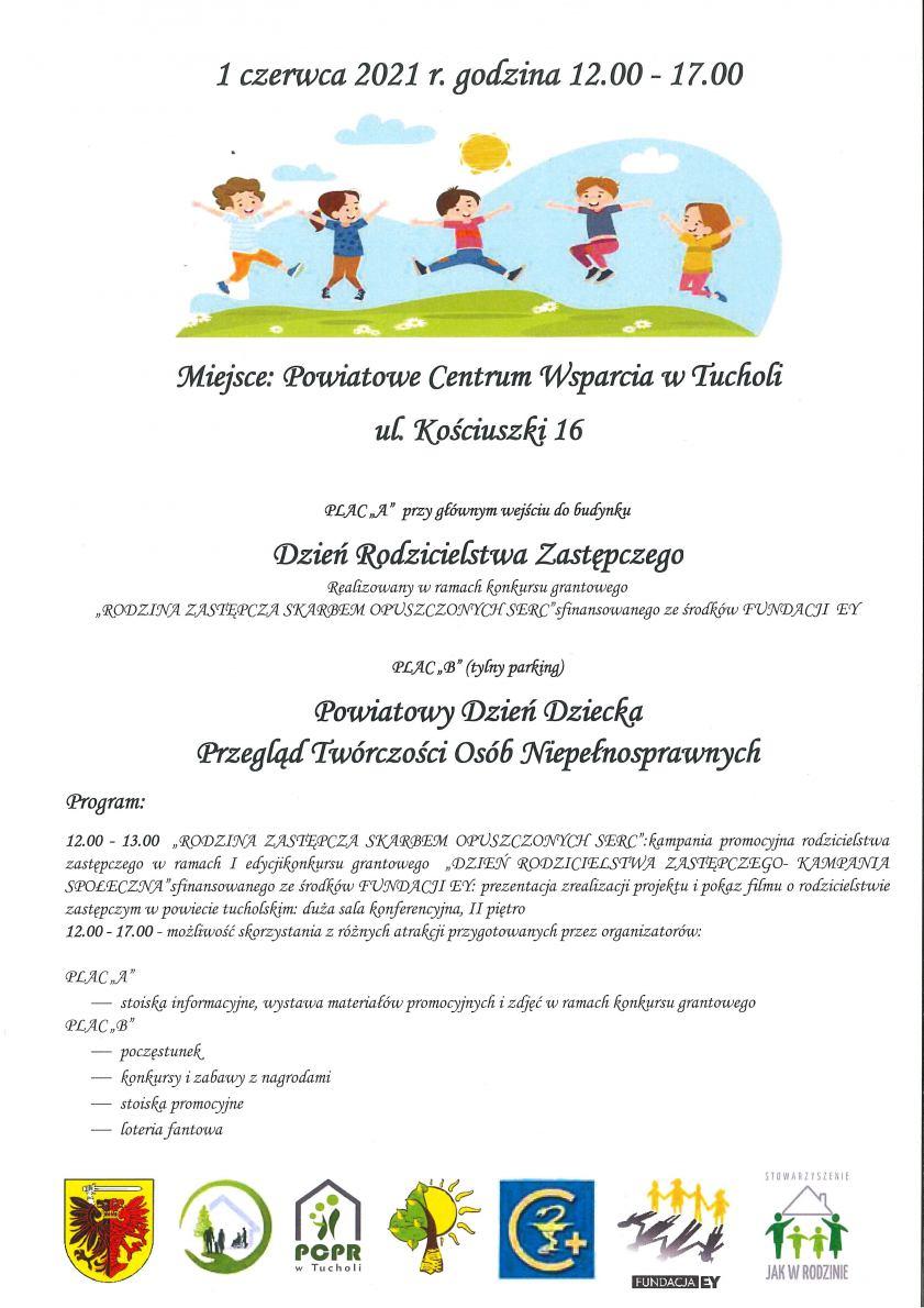 Powiatowy Dzień Dziecka i przegląd twórczości osób niepełnosprawnych w Tucholi
