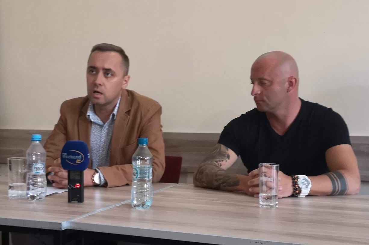 Prezes Bytovii Bytów Tomasz Baranowski i sekretarz Bartosz Malek rezygnują ze swoich stanowisk