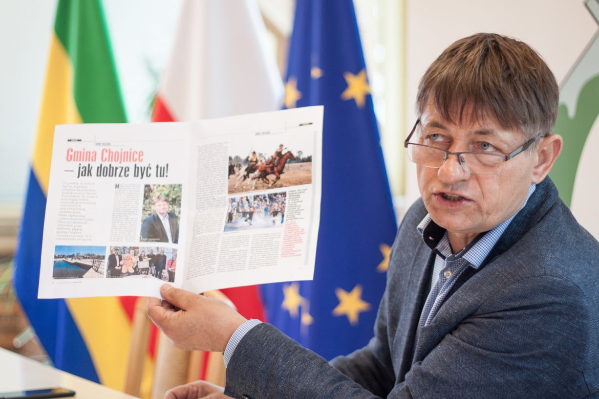 Gmina Chojnice liderem rankingu pisma Wspólnota w kategorii Przyrost dochodów rok do roku