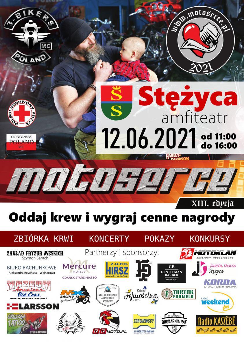 W sobotę w Stężycy k. Kościerzyny 13. edycja ogólnopolskiej akcji Motoserce