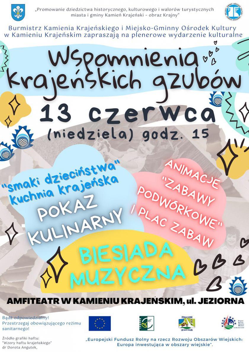 W Kamieniu Krajeńskim odbędzie się impreza plenerowa pod nazwą Wspomnienia krajeńskiego gzuba