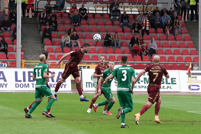 Chojniczanka utrzymała trzecie miejsce w tabeli II ligi i oba mecze barażowe rozegra na własnym stadionie FOTO