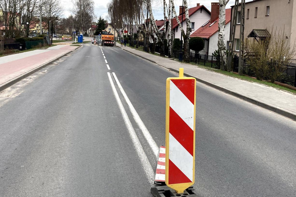 Mimo wcześniejszych zapewnień, odcinek Alei Brzozowej w Chojnicach nadal jest nieprzejezdny