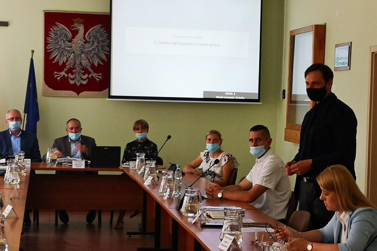 Wójt gminy Kołczygłowy z jednogłośnym absolutorium za wykonanie ubiegłorocznego budżetu