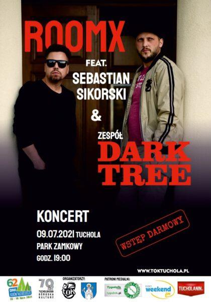 ROOMX i Sebastian Sikorski oraz DarkTree zagrają w piątek w Tucholskim Ośrodku Kultury