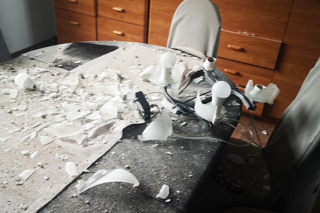 Piorun uderzył w dom w Dąbrówce. Całkowicie zniszczył instalację elektryczną w budynku FOTO