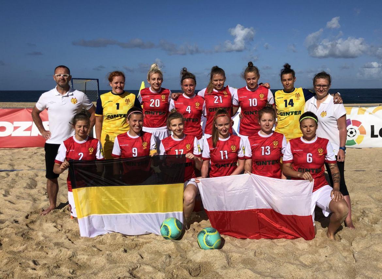 Red Devils Ladies Chojnice wylatują na turniej Ligi Mistrzyń w beach soccerze do Portugalii