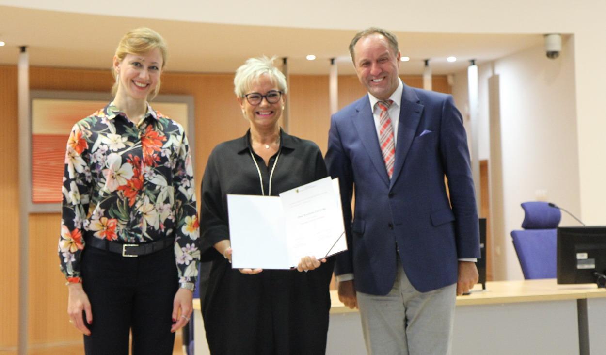 Krystyna Łuczycka z Człuchowa została powołana do składu Pomorskiego Zespołu do spraw Kobiet