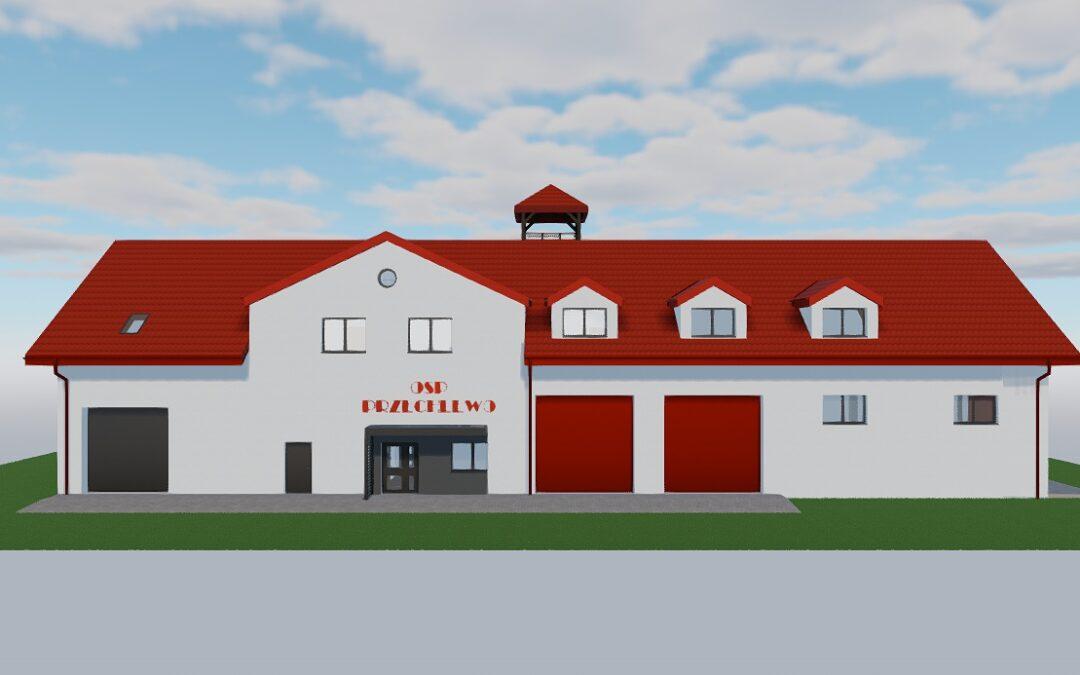 Wkrótce ruszy budowa nowej remizy Ochotniczej Straży Pożarnej w Przechlewie