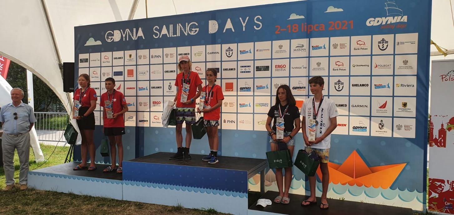 Złoty medal Mistrzostw Polski dla zawodników Chojnickiego Klubu Żeglarskiego