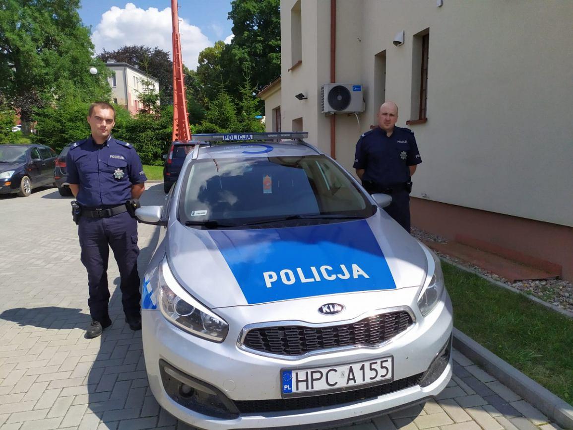 Dwóch policjantów z Kamienia Krajeńskiego zostało uhonorowanych Kryształowym sercem