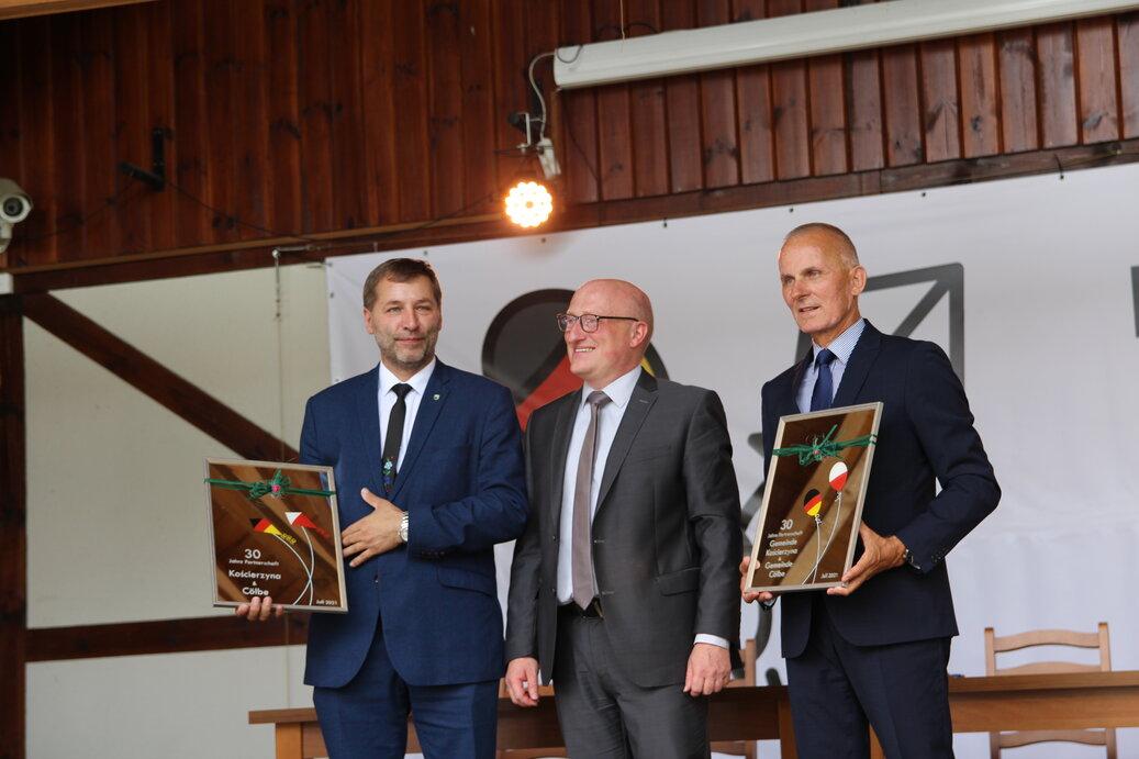 Uczcili 30 lat współpracy. Kościerzyna odnowiła akt partnerstwa z niemiecką gminą Cölbe FOTO
