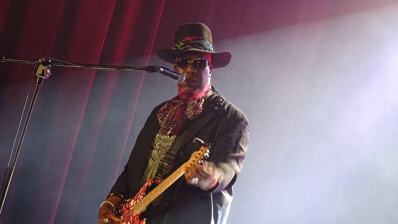 Nowojorski gitarzysta rockowy Lord Bishop wystąpił w Sępólnie Krajeńskim ROZMOWA