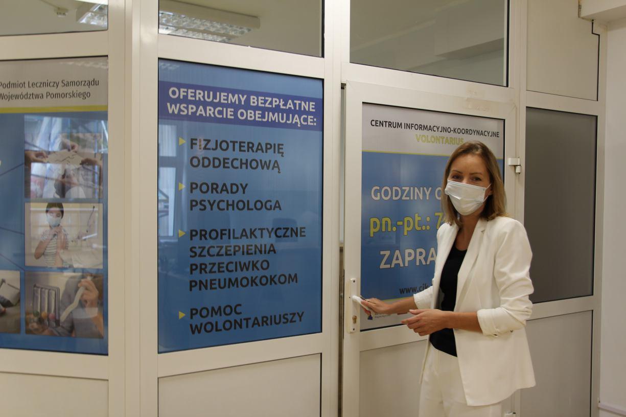 W kościerskim szpitalu uruchomiono Centrum Informacyjno-Koordynacyjne FOTO