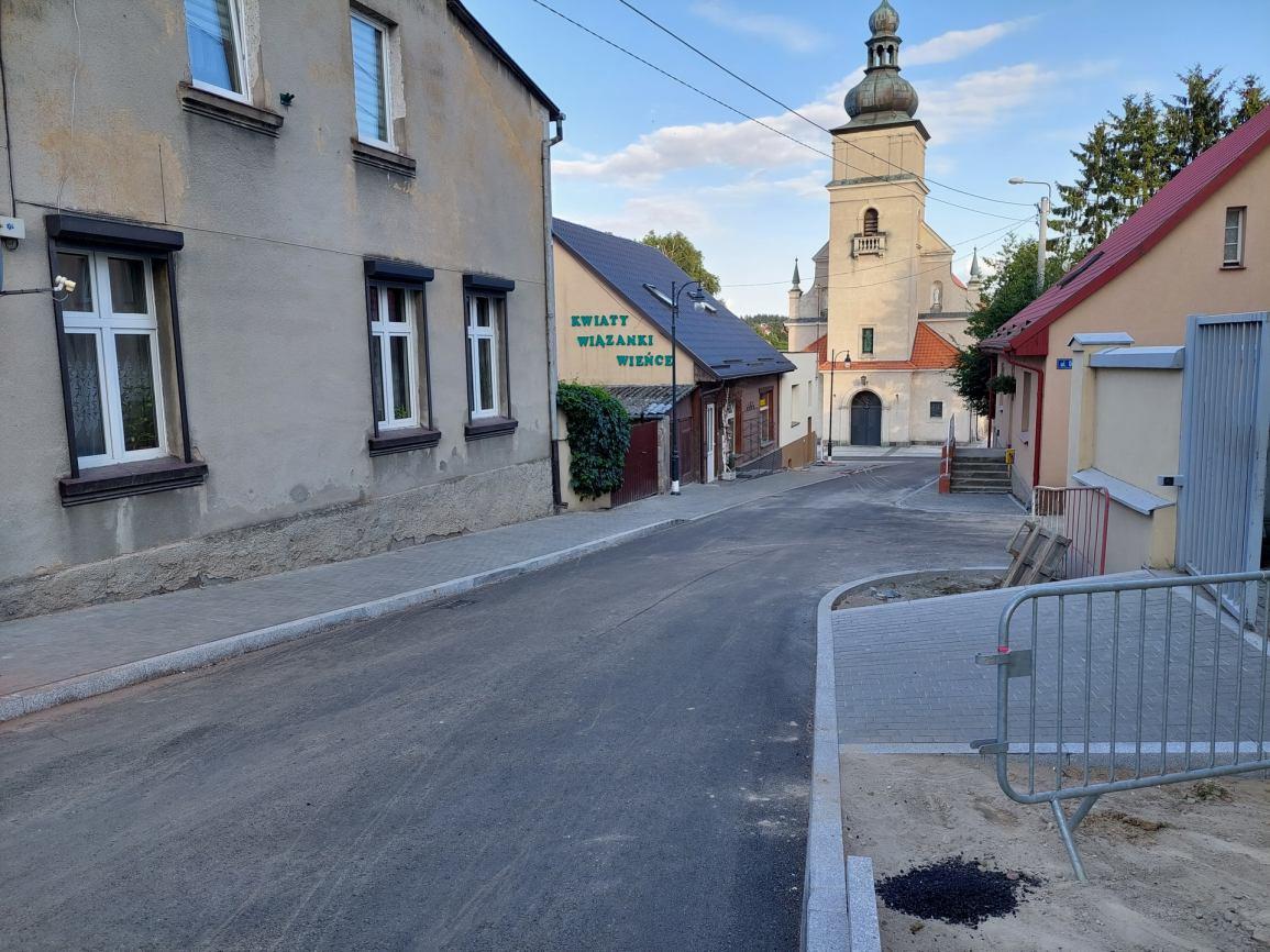 W najbliższym czasie zakończą się prace rewitalizacyjne przy kościele w Sępólnie Krajeńskim FOTO